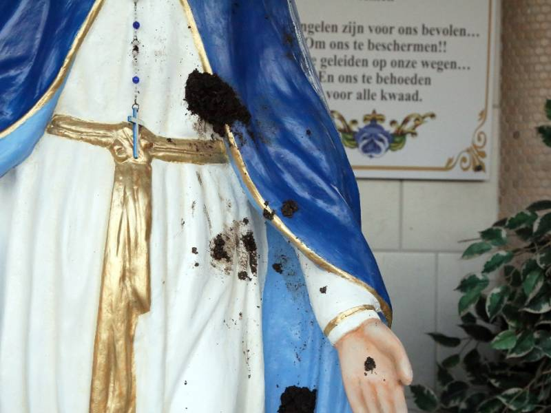 Verblijfsvergunning Mariabeeld Boelenspark ingetrokken